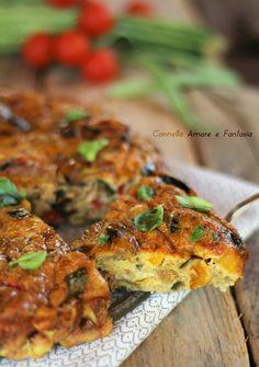 Frittata con verdure ricetta