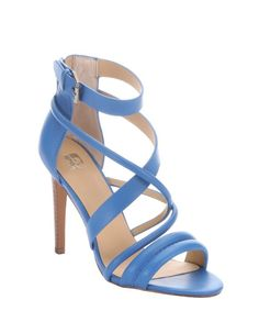 Joe's Jeans blulea leather 'Robbie' strappy stacked heel sandals