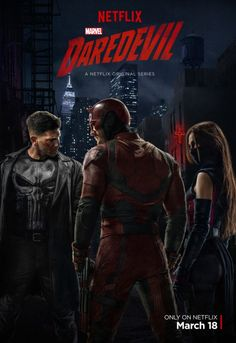 Marvel has released the first piece of promo material for the third season of Daredevil set to stream to Netflix later this year. Daredevil Season 2 Poster, Daredevil Tv Series, Daredevil Elektra, Marvel Series, Netflix Daredevil, Daredevil 2015, Luke Cage, Daredevil Punisher, Marvel Heroes