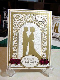 Wedding Card - Cheery Lynn Wedding Vows die used