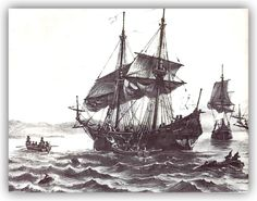 """In 1534, Jacques Cartier arrived with two ships from the north and 61 crew members, following the Viking trail through the Strait of Belle Isles.  A French explorer of Breton origin, he claimed what is now Canada for France. Jacques Cartier was the first European to describe and map the Gulf of Saint Lawrence and the shores of the Saint Lawrence River, which he named """"The Country of Canadas"""","""