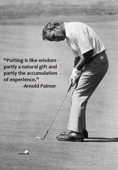 Golf Rules Keep working on your short game. It can win tournaments. Golf Club Sets, Golf Clubs, Junior Golf Tournaments, Famous Golfers, Golf Etiquette, Golf Putting Tips, Vintage Golf, Golf Quotes, Golf Sayings