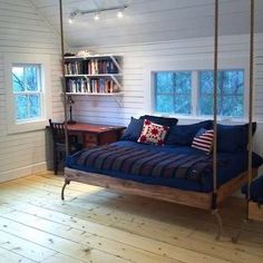 Hanging Bed from the Ceiling