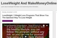 See how to lose weight quickly with the fat diminisher system. http://loseweight-makemoneyonline.blogspot.com/2015/11/loseweight-product-1-fatdiminisher.html