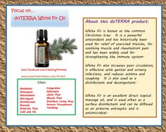 White fir doterra