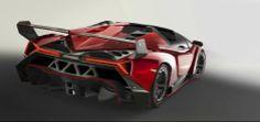 Lamborghini Veneno Roadster revealed with 3.3million Euro Price Tag