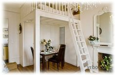 Grown-up loft 12-foot ceilings; could it work in smaller room?