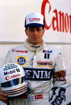 Martin Brundle's one of appearance as a Williams driver in 1988 for an ill Nigel Mansell...