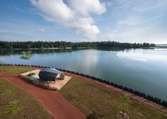 Punggol Promenade by LOOK Architects is a heritage site overlooking a beach in north-east Singapore