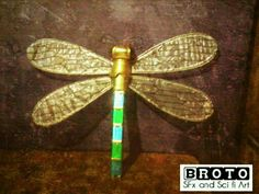 Dragonfly props | wings | steampunk | insect