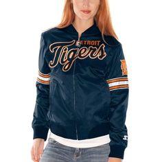 Detroit Tigers Satin Jacket