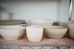 white pottery