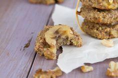Banana Bread Breakfast Cookies - use quinoa instead of oats in cookies!