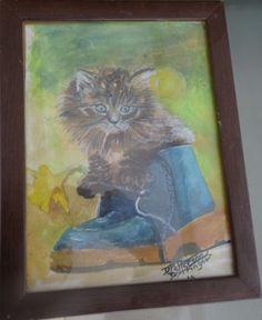 original-watercolour-painting-cat-in-boot
