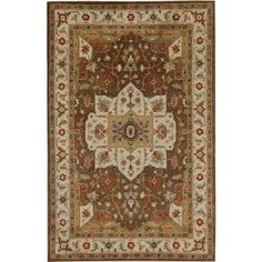 Poeme Chaumont - Hand Tufted - 2 x 3 Rug - JAR-RRC001019-0185. Poeme Chaumont - Hand Tufted - 2 x 3 Rug - JAR-RRC001019-0185 The Poeme Collection takes traditional designs and re-invents them in a palette of modern, highly livable colors. Each design is made from premiere hand-spun wool .. . See More 2x3 Floor Rugs at http://www.ourgreatshop.com/2x3-Floor-Rugs-C1014.aspx