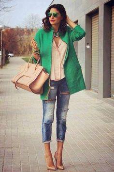 Jeans&petit manteau