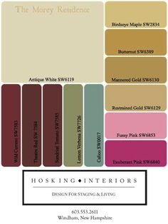 9 best CLIENT COLOR PALETTES images on Pinterest | Color charts, Color  palettes and Colors