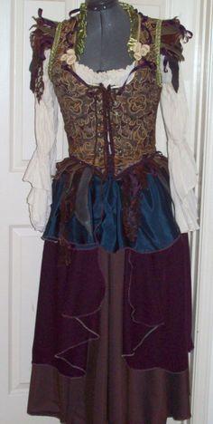 Rhiannon Goddess gown by customecostumer on Etsy