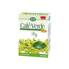 Dieta : Café Verde Esi 500mg 60 Capsulas