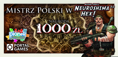 Winner's check - Neuroshima Hex boardgame Polish Championship 2015