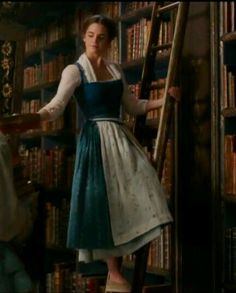 Emma Watson as Belle, in Disney's Beauty and the Beast
