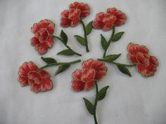 6  FLOWER IRON ON. by Toide on Etsy, $4.80