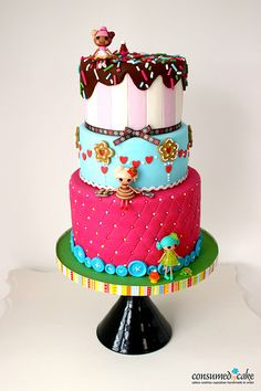 Lalaloopsy Birthday Cake- if i start working on this now, maybe it'll be done by August! :)
