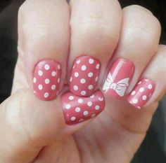 Pink Dots & Bow