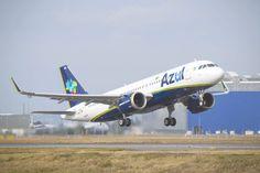 O A320neo é o primeiro avião narrow-body adquirido pela Azul (Airbus)