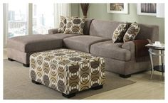 Groupon - Verona Sectional Upholstered In Slate Faux Linen With Free Pillows. Groupon deal price: $998