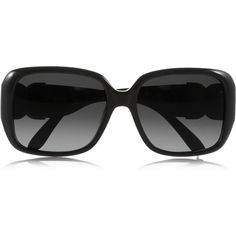 Chloé Square-frame acetate sunglasses ($195) ❤ liked on Polyvore featuring accessories, eyewear, sunglasses, glasses, óculos, black, black glasses, black sunglasses, square frame glasses and acetate glasses