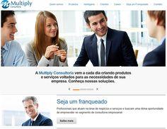 Para que a metodologia e os serviços da Multiply Consultoria pudessem ser mostrados de forma clara e organizada, a Orbitive Agência Digital desenvolveu o website da empresa, assim como o sistema personalizado.
