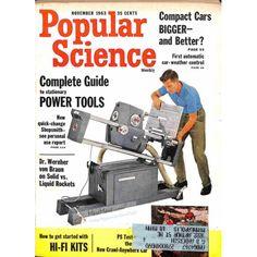Cover Print of Popular Science Magazine, November 1963 | $4.72