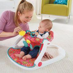 Fisher-Price Sit-Me-Up Floor Seat - Girl - CJH56