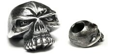 Silver Skull Beads - Emerson Knives Inc.