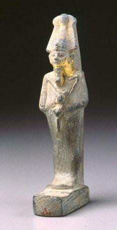 Stone statuette of Osiris. Late Period. 664–332 B.C. | The Museum of Fine Arts, Boston