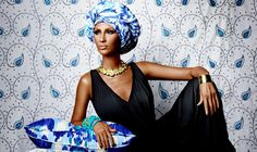 70s, the decade of the first top models. Iman was the first black top model