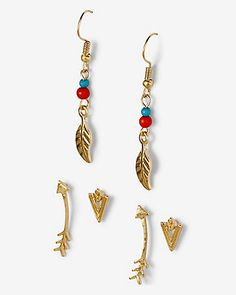 southwestern earring set