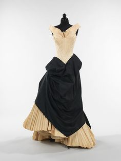 Garment Muslins all time periods # 1 of 169 muslins made by Designer: Charles James (American, born Great Britain, 1906–1978) Date: 1953 Culture: American Medium: cotton
