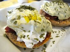 Healthy Eggs Benedict & Hollandaise - To Live & Diet in LA