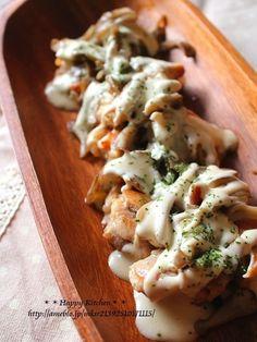 チキンと舞茸のクリームチーズソース by たっきーママさん / レシピサイト「ナディア / Nadia」/プロの料理を無料で検索