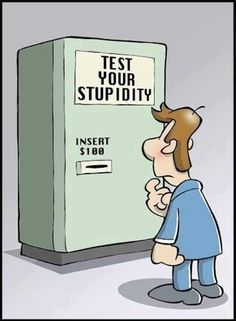 Test Your Stupidity funny quotes quote jokes lol funny quote funny quotes funny sayings humor Funny Cartoons, Funny Jokes, Funny Test, Funny Troll, Funny Images, Funny Pictures, Funny Pics, Quotes Images, Funny Stuff