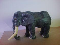 escultura de argila