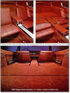 1966 Dodge Charger interior