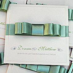 Luxury Evening Wedding Invitations | Handmade by Wedding Invitation Boutique | Belle