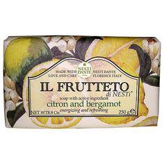 Buy Nesti Dante Il Frutteto Citron & Bergamot Soap, 250g Online at johnlewis.com