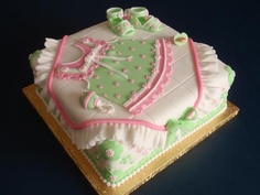 Another beautiful baby shower cake from Eve.