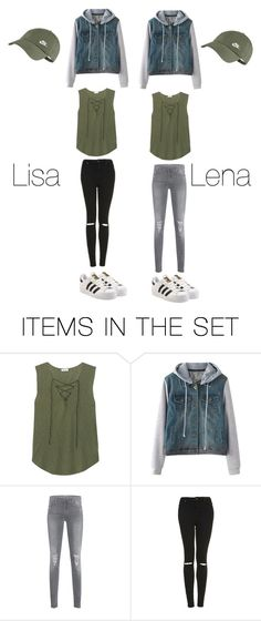 """Lisa and Lena"" by whitney555 ❤ liked on Polyvore featuring art"