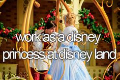 I would love to be a real life princess