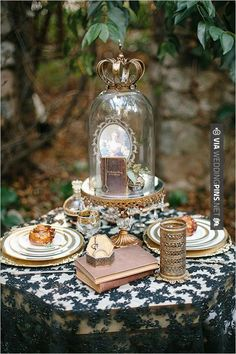 So neat! - gold and lace wedding ideas | CHECK OUT MORE GREAT VINTAGE WEDDING IDEAS AT WEDDINGPINS.NET | #weddings #vintagewedding #weddingvintage #oldweddingphotos #events #forweddings #iloveweddings #romance #vintage #planners #old #ceremonyphotos #weddingphotos #weddingpictures